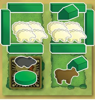 Agricola Game Pieces